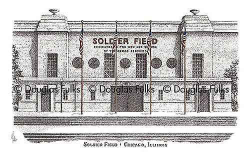 Soldier Field, Print