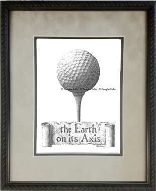 Golf, Framed