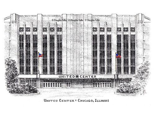 United Center, Print