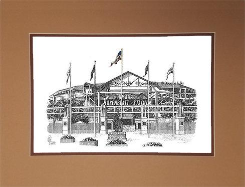 Rosenblatt Stadium, Matted