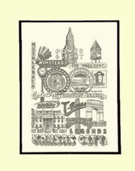 Kansas City Panoply #2, Matted