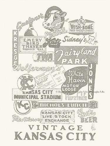 Vintage KC Panoply, Print