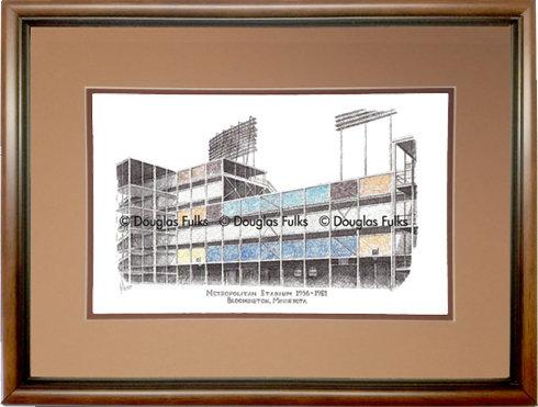 Metropolitan Stadium, Framed