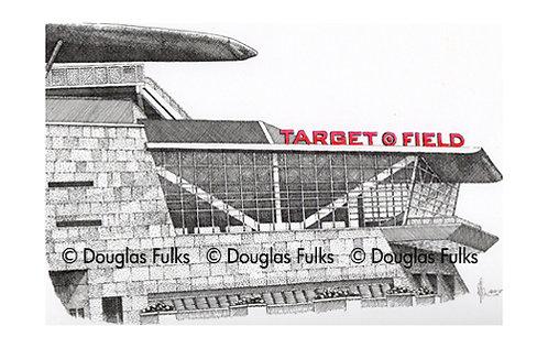 Target Field, Print