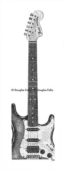 Fender Stratocaster, Print