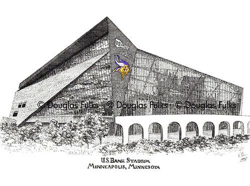 US Bank Stadium, Print