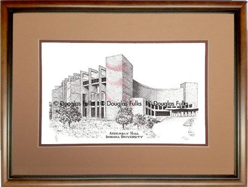 Assembly Hall, Framed