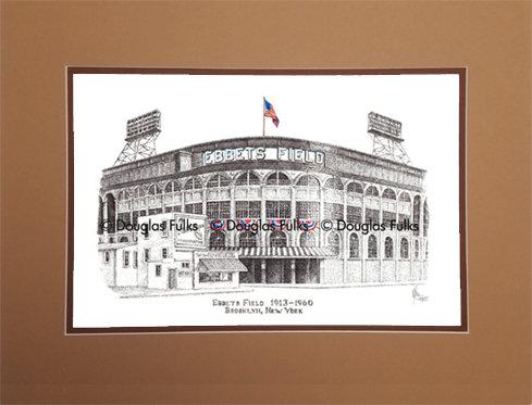Ebbets Field, Matted