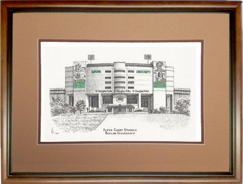 Floyd Casey Stadium, Framed