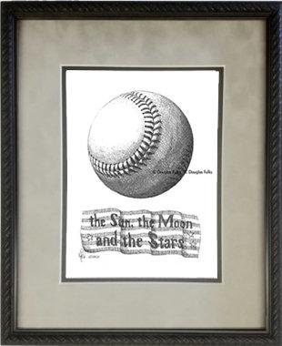Baseball, Framed
