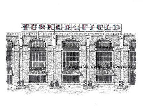 Turner Field, Print