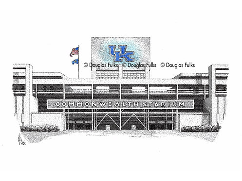 Commonwealth Stadium, Print