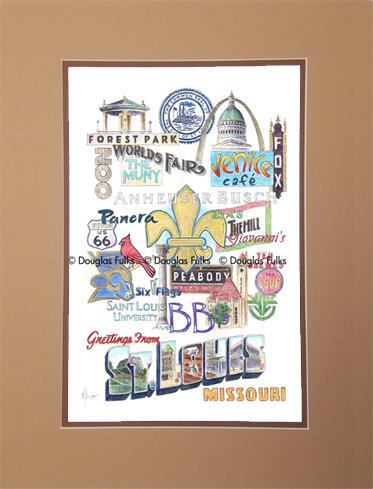 St. Louis, Missouri Matted
