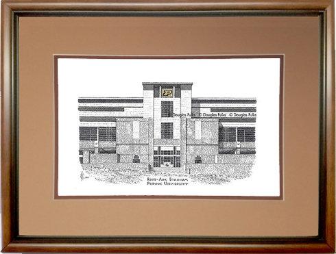 Ross Ade Stadium, Framed