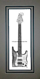 Fender Stratocaster, Matted