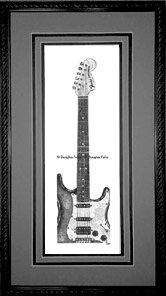 Fender Stratocaster, Framed