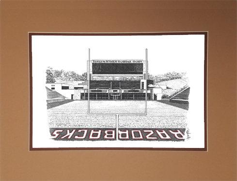 Razorback Stadium, Matted