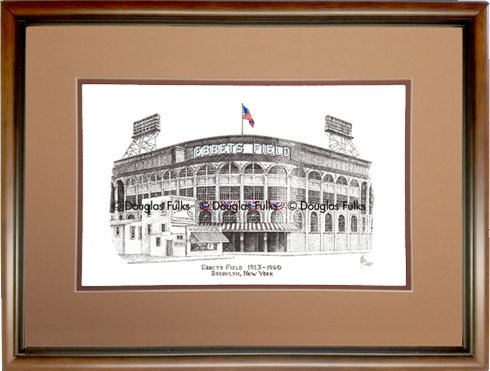 Ebbets Field, Framed