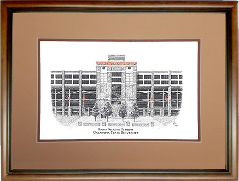 Boone Pickens Stadium, Framed
