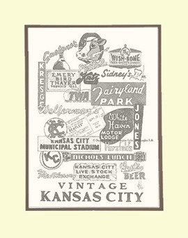 Vintage KC Panoply, Matted