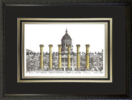 MU Columns, Framed