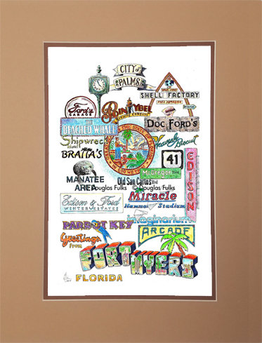 Fort Myers, Florida Matted