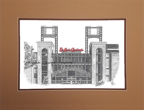 Busch Stadium, Matted
