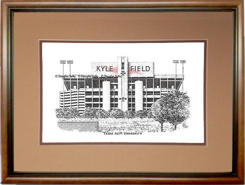 Kyle Field, Framed