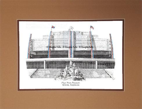 Mile High Stadium, Matted