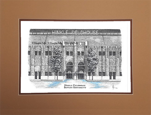 Hinkle Fieldhouse, Matted