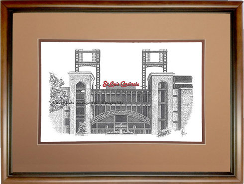 Busch Stadium, Framed