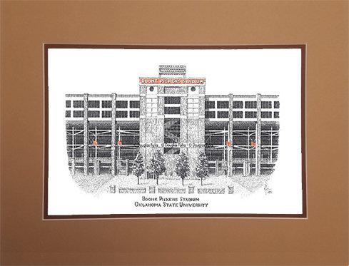 Boone Pickens Stadium, Matted