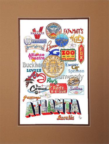 Atlanta, Georgia Matted