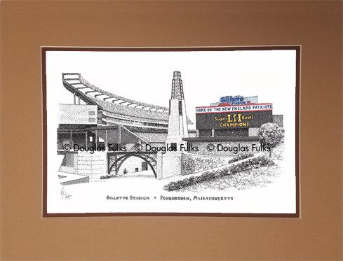 Gillette Stadium, Matted