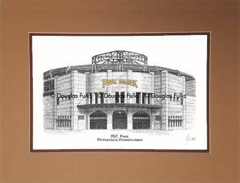 PNC Park, Matted