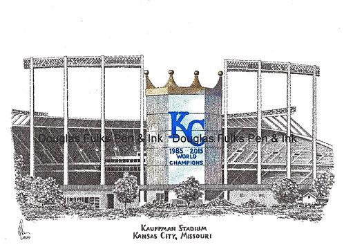 Kauffman Stadium, Print