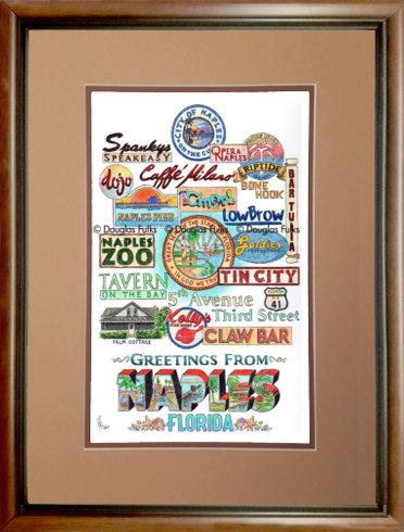 Naples, Florida Framed