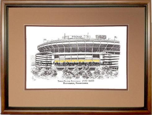 Three Rivers Stadium, Framed