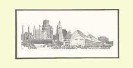 Urban KC Skyline, Matted