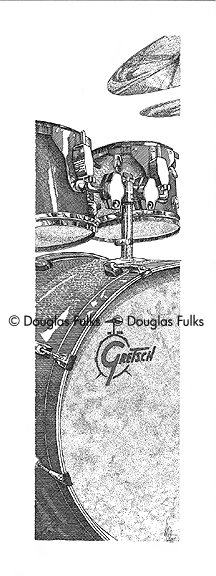 Gretsch Drums, Print
