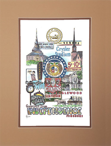 Independence, Missouri Matted
