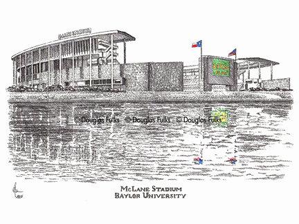 McLane Stadium, Print
