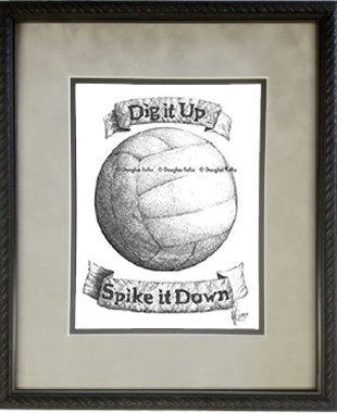 Volleyball, Framed
