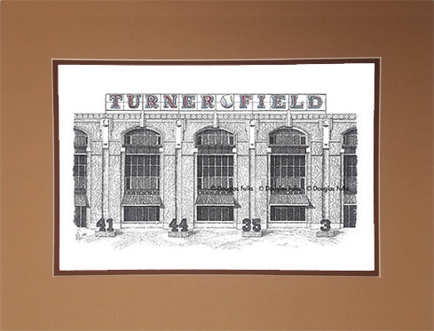 Turner Field, Matted