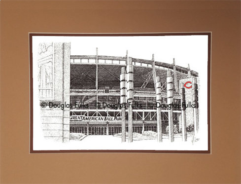 Great American Ballpark, Matted