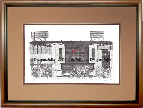US Cellular Field, Framed