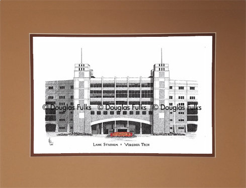 Lane Stadium, Matted