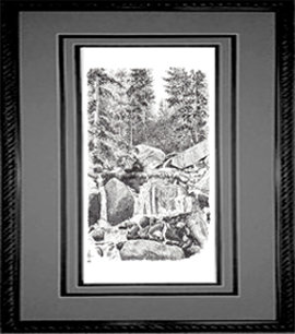 Catamount Creek, Framed
