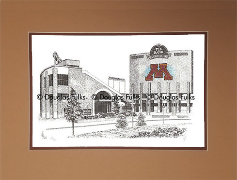 TCF Bank Stadium, Matted