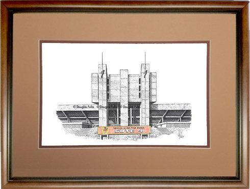 Jack Trice Stadium, Framed